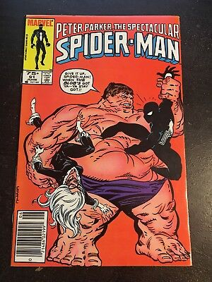 Spectacular Spider-man#91 Incredible Condition 8.5(1984) Blob, Black Cat!!