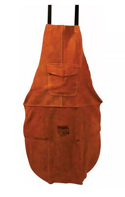 2 x Brown Leather Welders / Welding / Blacksmith / Carpenters Apron 60x90cm
