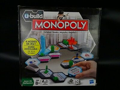 French U-build Monopoly The Fast-dealing Property Trading Game