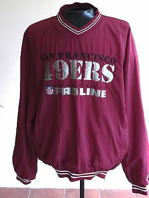 fd61609b5b2 VINTAGE Russell Athletic SAN FRANCISCO 49ers Pullover Lined Jacket NFL  Men s XL