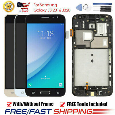 For Samsung Galaxy J3 2016 J320 J320FN/A/F/M LCD Display Touch Screen Digitizer