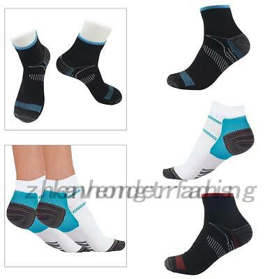 2 Pairs Unisex Plantar Fasciitis Compression Socks Heel Foot Arch Pain Relief ZH