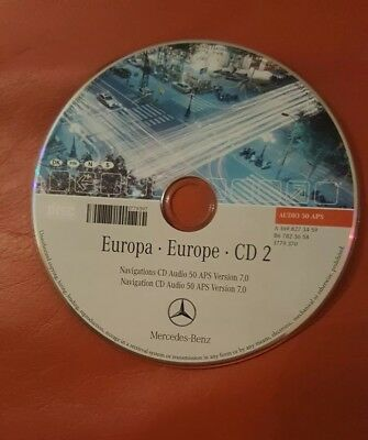 Navigation CD Audio 50 APS Version  7.0