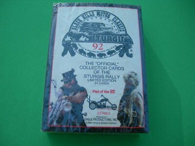 Sturgis The Official Collector Cards of the 1992 Sturgis Rally, Limited Edition