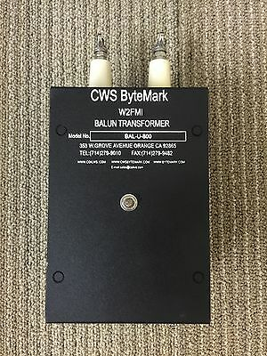 800:50 ohms 16:1 impedance Matching Transformer (Balun/Unun) Jerry Sevick W2FMI