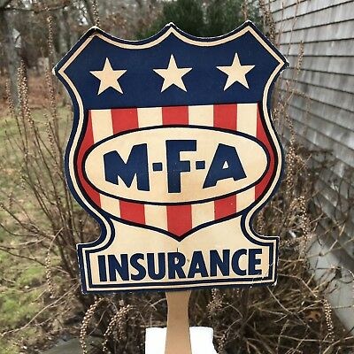 Antique Paper Advertising Hand Fan M-F-A Insurance Memphis Tennessee District