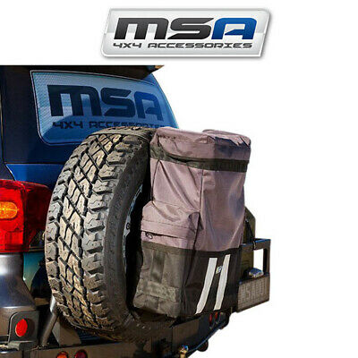 MSA Rear Wheel Bag Camping Offroad 4X4 4WD Spare Tyre Rubbish