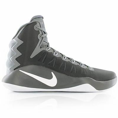 c329291f51bc Nike Hyperdunk 2016 Cool Grey White Wolf Grey Mens Basketball Shoes.New In