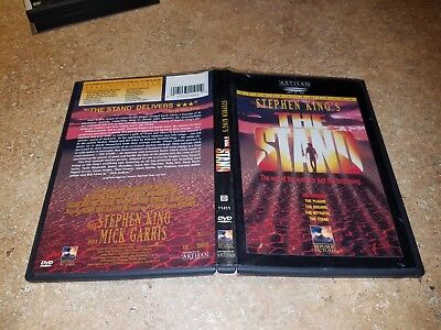 The Stand (DVD, 1999, 2-Disc Set, Special Edition) STEPHEN KING'S, GOOD COND