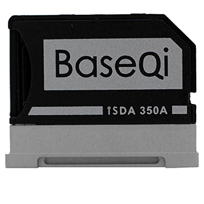 BASEQI Aluminum MicroSD Adapter for Microsoft Surface Book Surface Book 2 13.5""