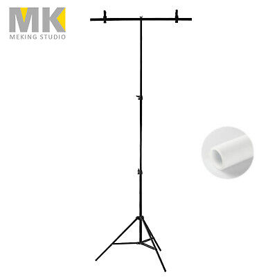 80*200cm Adjustable Background Support Stand Photo Video Backdrop Kit Photograph