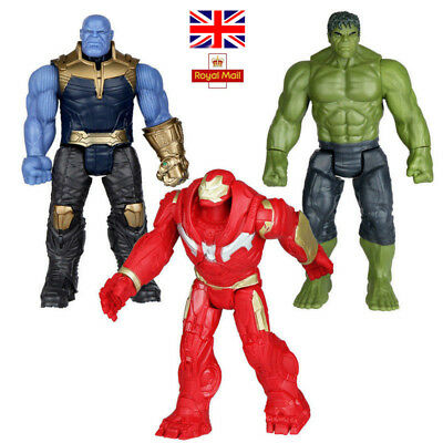 Action Figures Avengers Legends Hero Series Thanos Spiderman Hulk Toys Gifts