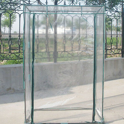 Garden Grow Plant Greenhouse PVC Cover Tall Green House Shed Storage Garden Tent