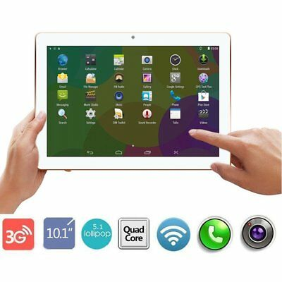 """10.1"""" inch Android 7.0 Tablet PC 4GB+64GB Octa Core WIFI GPS Phone Wifi Phablet#"""