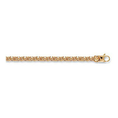 9ct  Hallmarked Yellow Gold Bizantine Chain