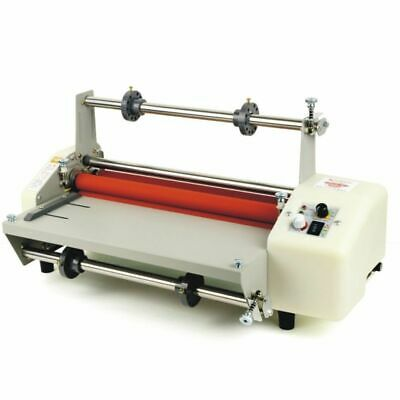 NEW A4 Roll Laminator Speed Adjustable Four Roller Hot Cold Laminating Machine