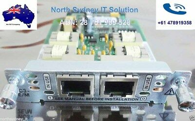 Cisco VIC3-2E/M 3rd Gen. 2-port E&M Card, 1 Year Wty. For 2800/3800/2900/3900