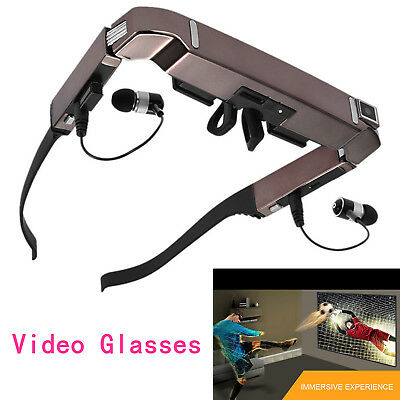 Vision 800 Android 4.4 TFT LCD 3D Side By Side Camera Bluetooth4.0 Video Glasses