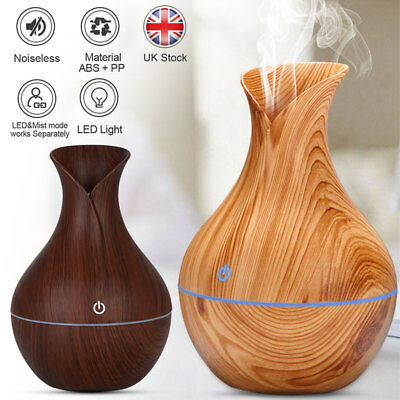 Ultrasonic Humidifier Air Purifier Essential Oil Aroma Diffuser Aromatherapy LED