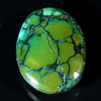 9.20Cts Best Tibet Turquoise Oval Cabochon Loose Gemstone