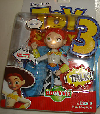 Toy Story 3  Electronic Talking Jessie Figure