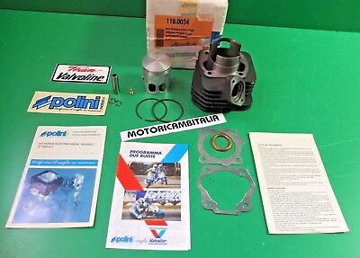 PEUGEOT SCOOTER ST50 ST 50 RAPIDO Vision CYLINDER CILINDRO CAST IRON POLINI CC47
