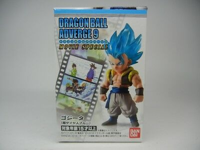 "Dragon ball Z GT Adverge 9 Movie Special "" Gogeta "" Figure BANDAI Japan import"