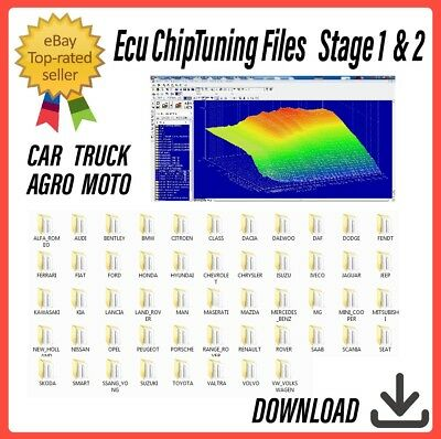 ECU Remap Chip Tuning Files | Stage 1 + Stage 2 | ECU Chip Tuning Remapping