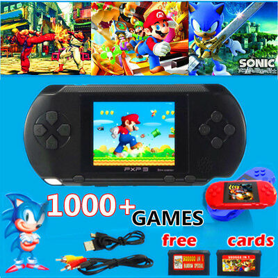 2.7'' TFT PXP3 Game Console Handheld Portable 16 Bit Retro Video Free Games Gift