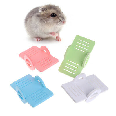 Funny Hamster Seesaw Toys Wooden Pets Small Animals Rabbit Chinchilla Play Decor