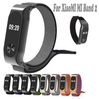 Lightweight Nylon Adjustable Replacement Band Sport Strap For XiaoMI MI Band 2