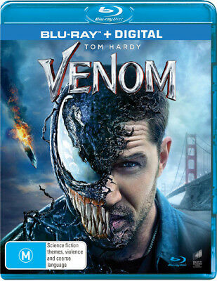 Venom (2018) (Blu-ray/Digital)  - BLU-RAY - NEW Region B