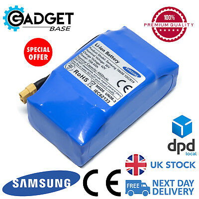 Replacement Samsung 4.4mAh 36v Battery - Hoverboard / Swegway / Balance Scooter