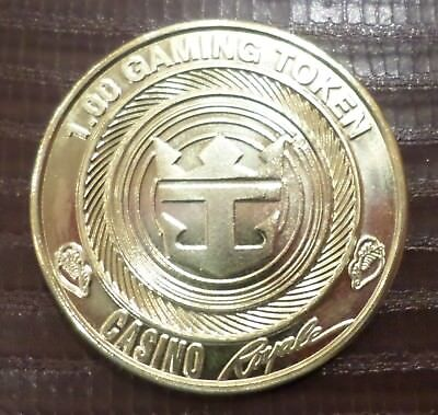 RCI $1.00 gaming token .. Exclusive repeat passenger gift