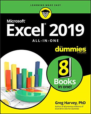 Harvey Greg Ph.D.-Excel 2019 All-In-One BOOK NEW