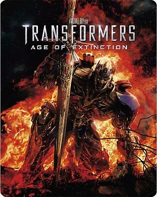 Transformers: Age of Extinction (Steel Book) [Blu-ray]