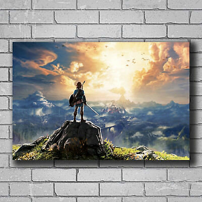 N-514 Game The Legend of Zelda Breath of the Wild Hot Poster Art 20x30 24x36IN