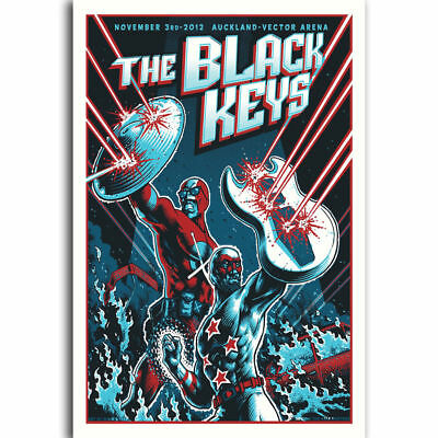 21 24x36in P-345 Art Hot The Black Keys Rock Music LW-Canvas Poster