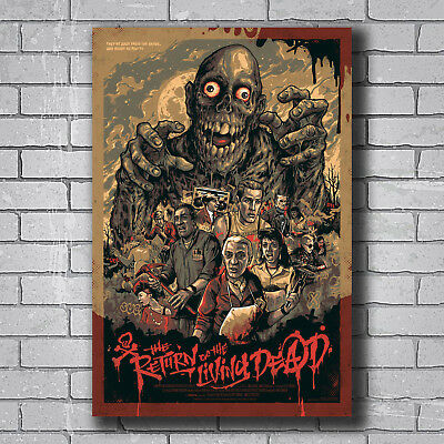 N-812 Return of the Living Dead Classic Horror Hot Wall Poster Art 20x30 24x36IN