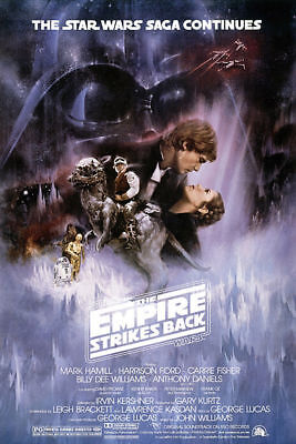 N-788 Star Wars Episode V The Empire Strikes Back Classic Movie Fabric POSTER 36