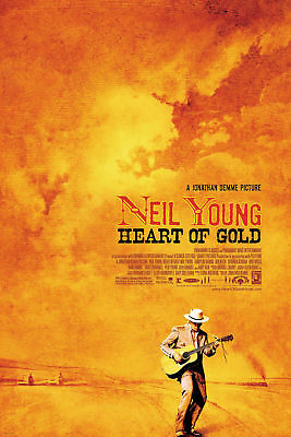 Art Poster NEIL YOUNG HEOF GOLD 2006 Classic Movie Neil Young 14x21 24x36 Y3665