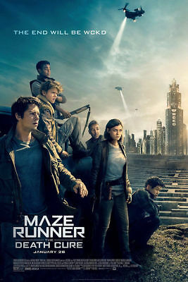 F-603 Maze Runner The Death Cure 2018 Movie Film Hot Poster 36 27x40in Art Print