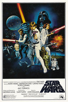 N-743 Star Wars Episode IV - A New Hope Classic Movie Fabric POSTER 20x30 24x36