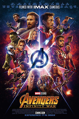 N-155 Avengers Infinity War Marvel Movie Comics Film1 Fabric POSTER 20x30 24x36
