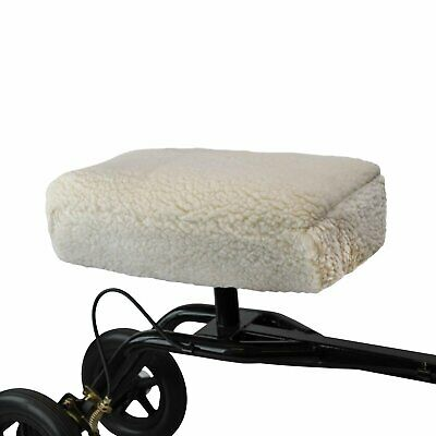 NEW Premium Knee Scooter Pad - Synthetic Fleece Sheepskin Cover
