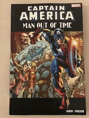 Captain America Man Out Of Time TPB NM 1st Print
