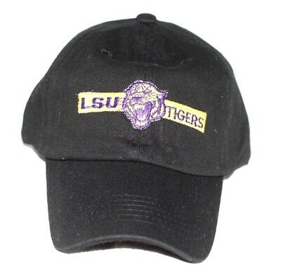 san francisco 57608 bbef6 ... real vintage lsu tigers custom unstructured dad hat 36b43 4afa9