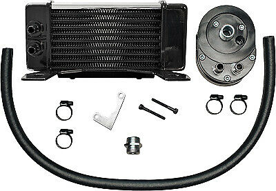Jagg Oil Coolers Horizontal 10 Row Oil Cooler 750-2380 Chrome