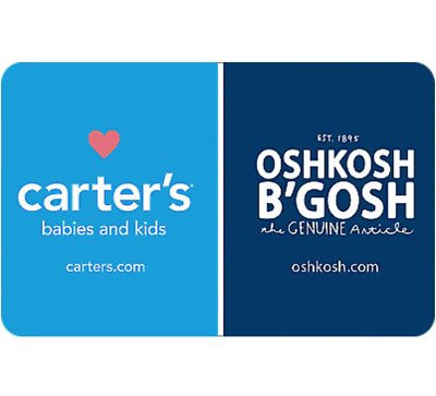 Buy a $25 Carters Oshkosh Gift Card, get an add'l $5 (1 Card) - Email Delivery