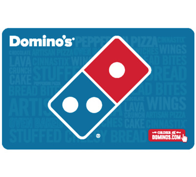 Buy a $25 Domino's Gift Card, get an add'l $5 ($30 value) - Fast Email Delivery